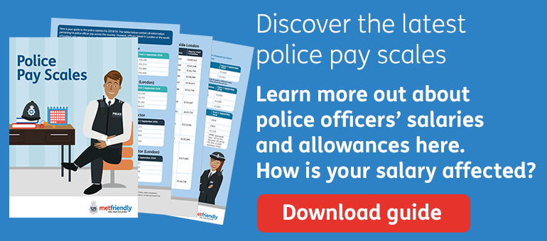Discover the 2017/18 police pay scales