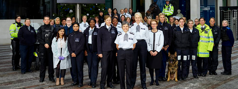 The Metropolitan Police is celebrating 100 years of female police officers
