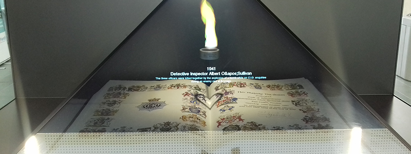 We're proud sponsors of the Memorial Flame at Hendon