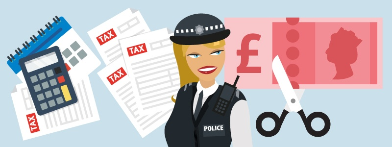 As a police officer, are you claiming your full tax relief?